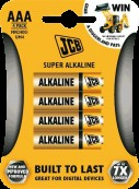 Baterka-JCB-LR03-4B/AAA